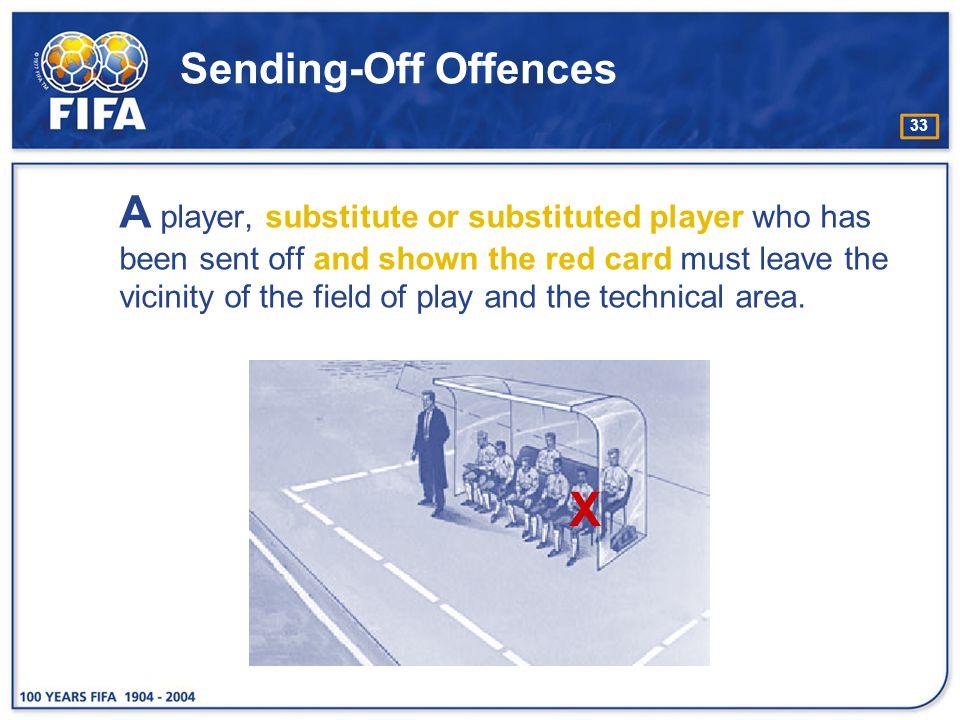 Sending-Off Offences