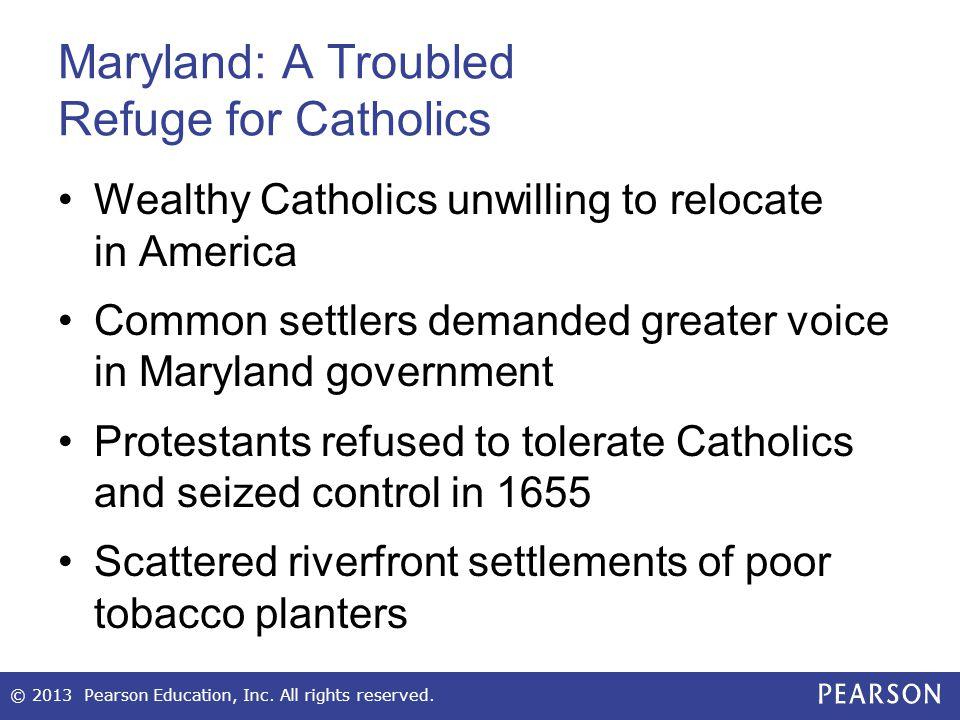 Maryland: A Troubled Refuge for Catholics