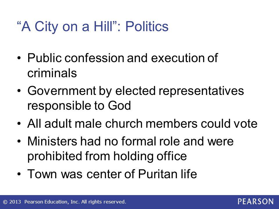 A City on a Hill : Politics