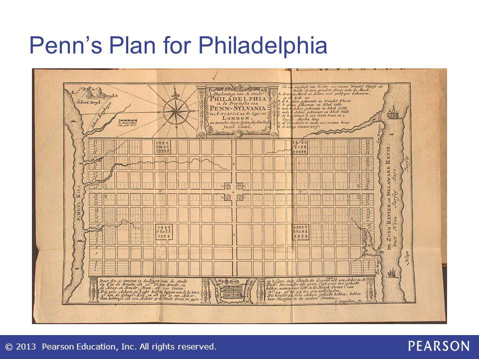 Penn's Plan for Philadelphia
