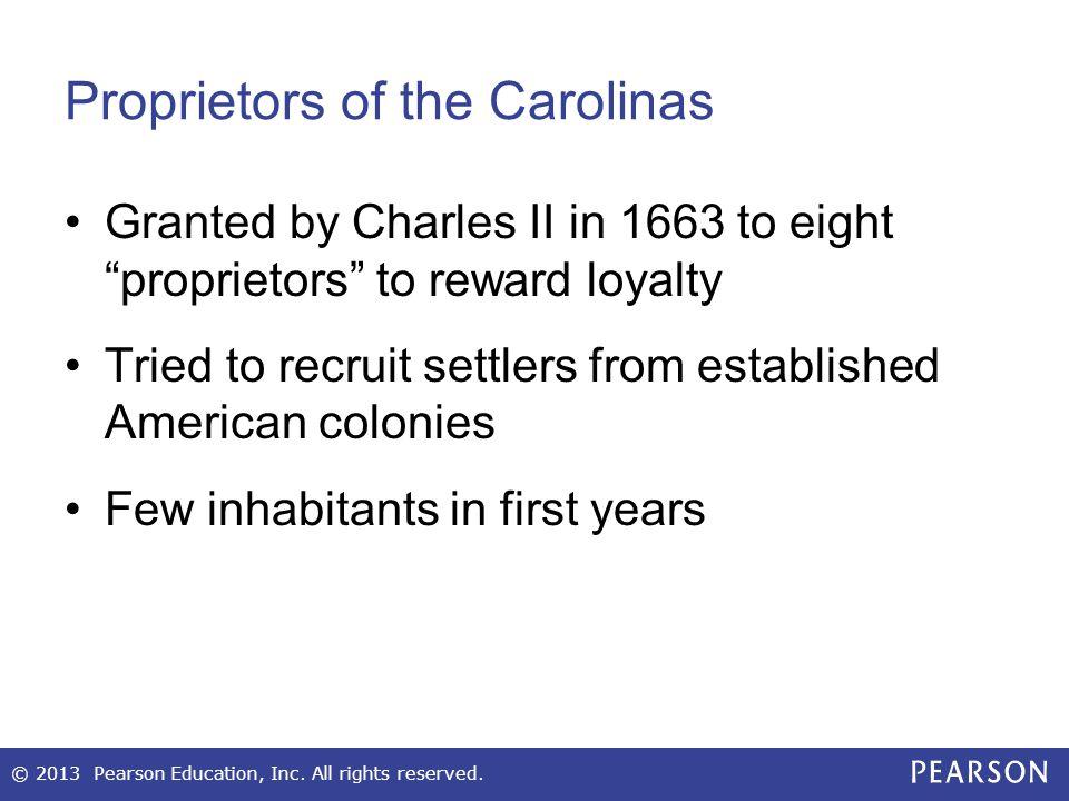 Proprietors of the Carolinas