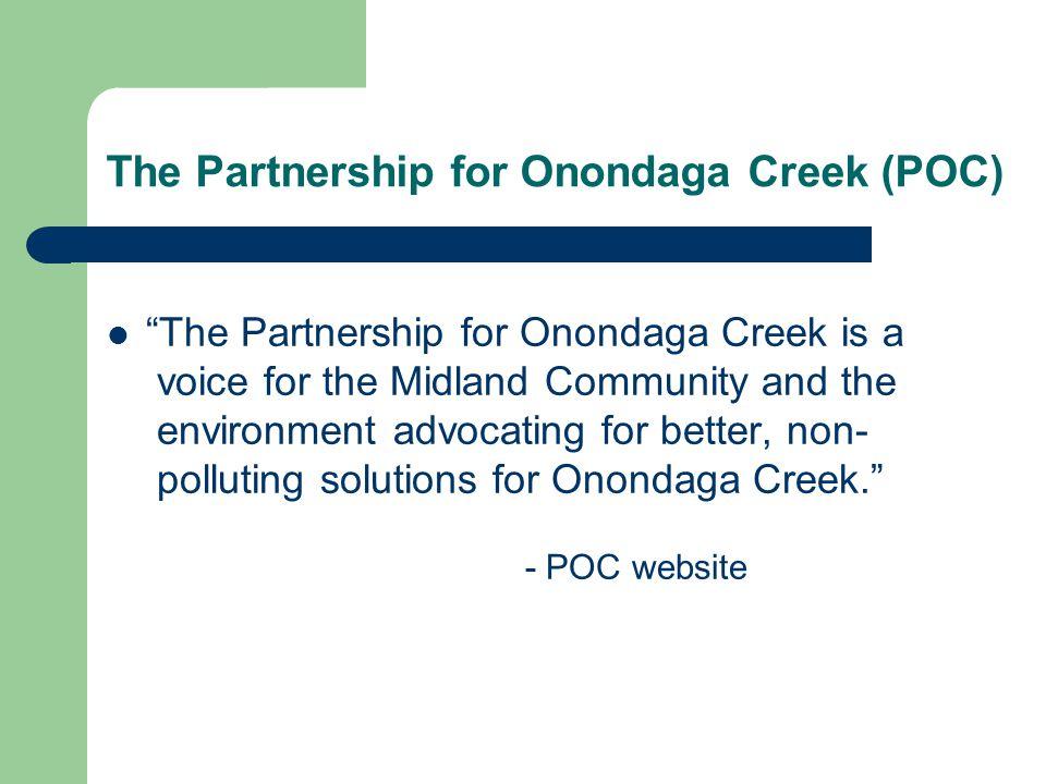 The Partnership for Onondaga Creek (POC)