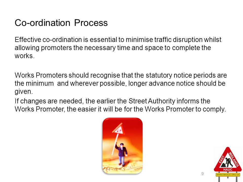Co-ordination Process
