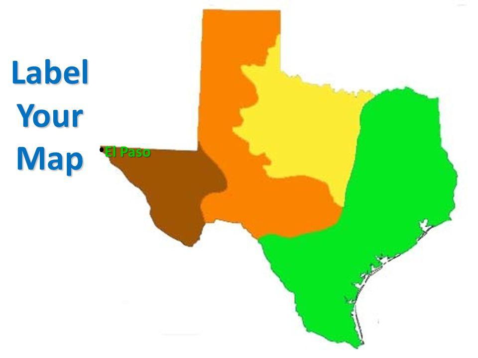 Label Your Map El Paso
