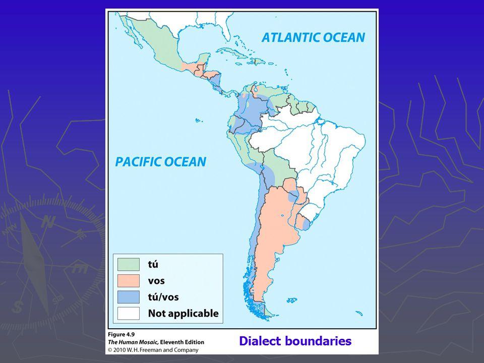 Dialect boundaries