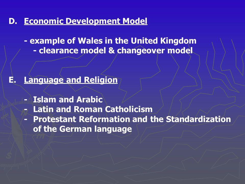 D. Economic Development Model