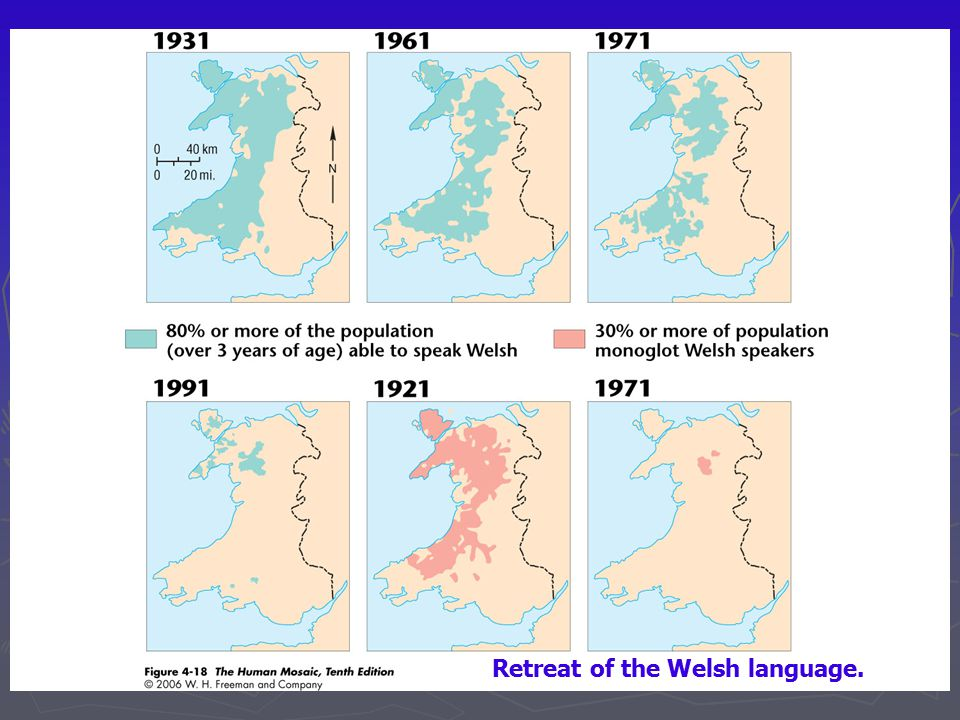 The Human Mosaic CHAPTER FOUR Ppt Video Online Download - World map in welsh language