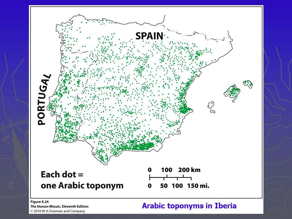 Arabic toponyms in Iberia
