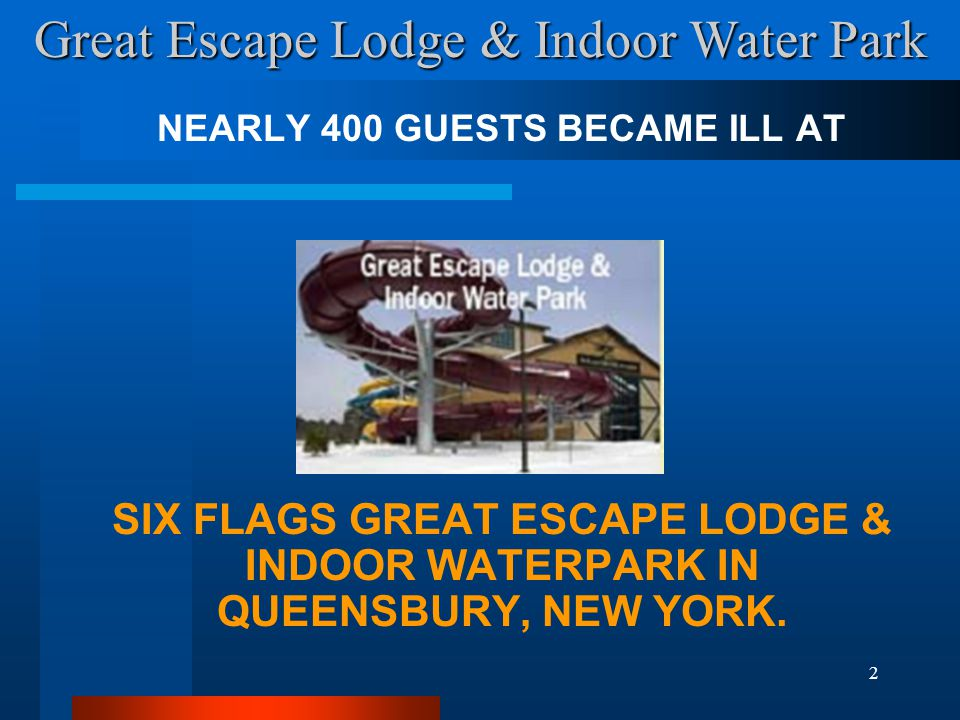 NEARLY 400 GUESTS BECAME ILL AT