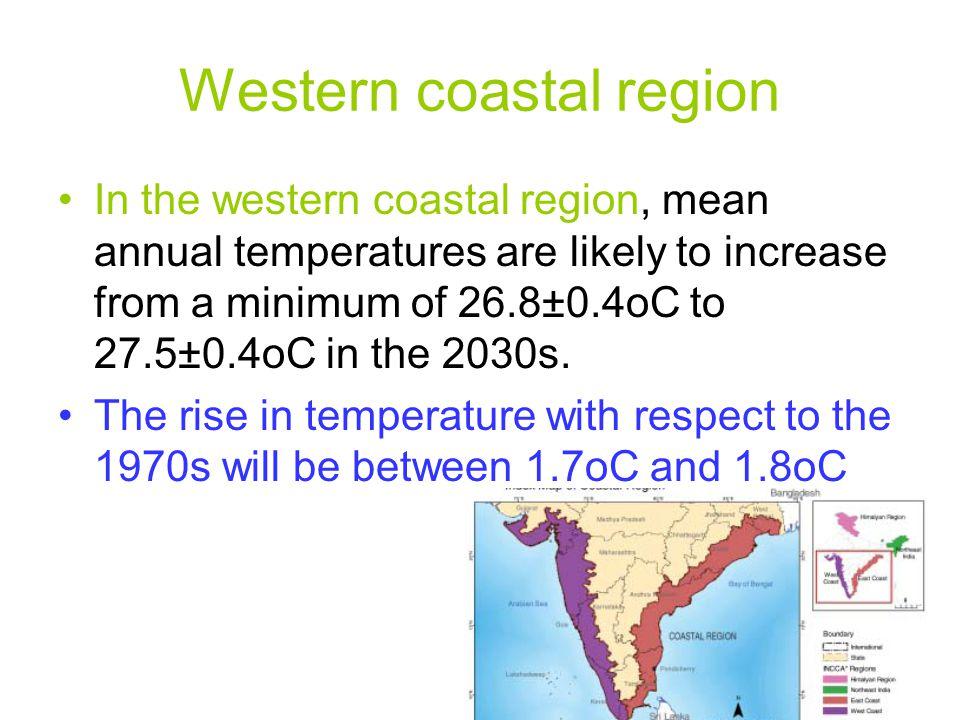 Western coastal region