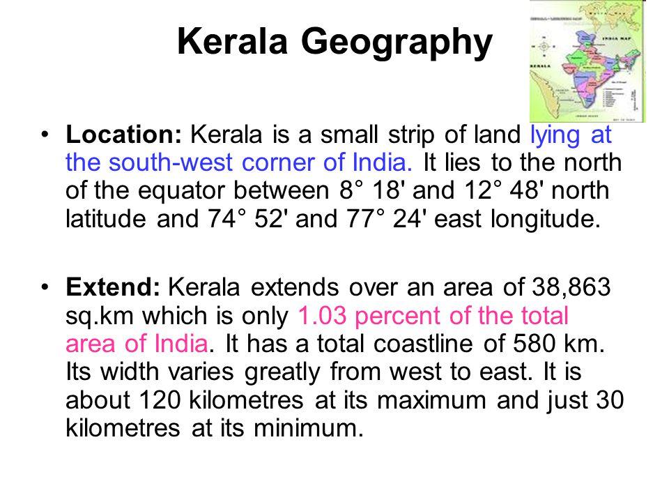 Kerala Geography
