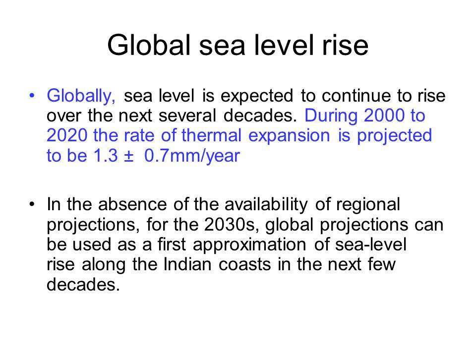 Global sea level rise