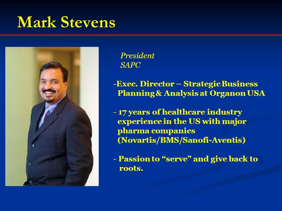 Mark Stevens President SAPC