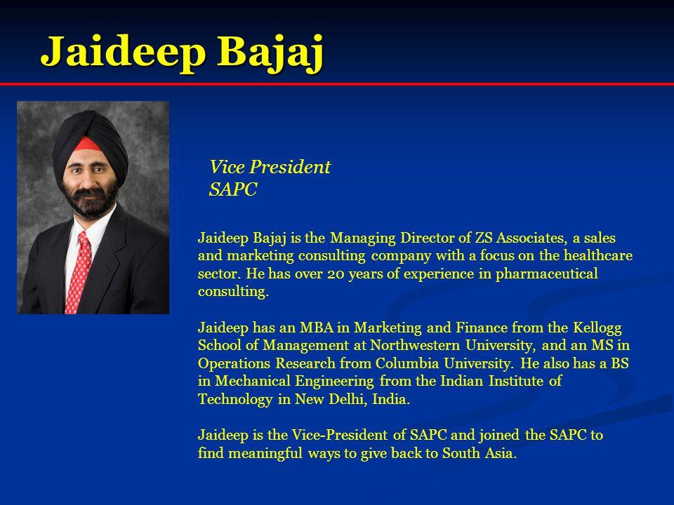 Jaideep Bajaj Vice President SAPC