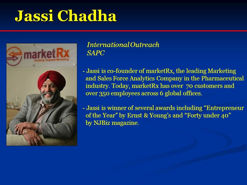Jassi Chadha International Outreach SAPC