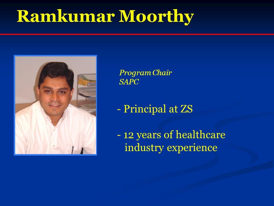 Ramkumar Moorthy - Principal at ZS