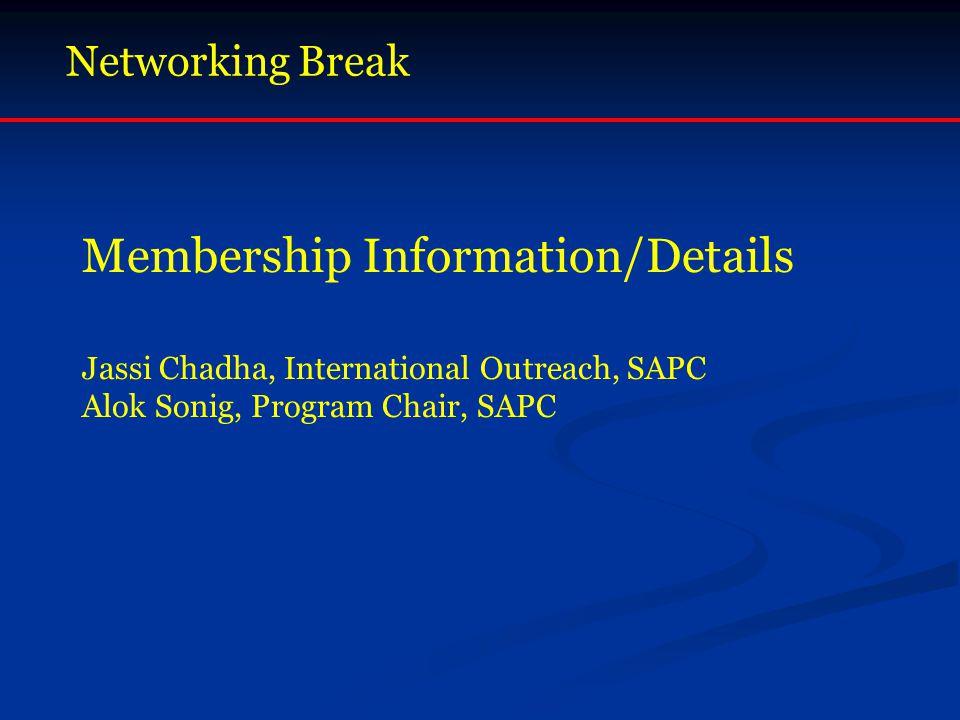Membership Information/Details