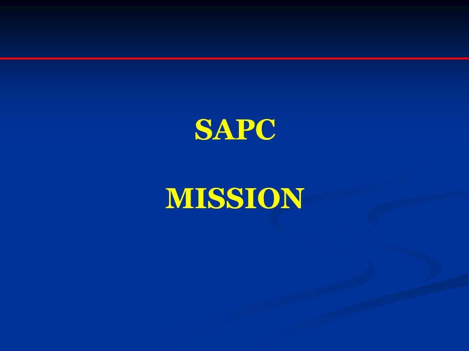 SAPC MISSION