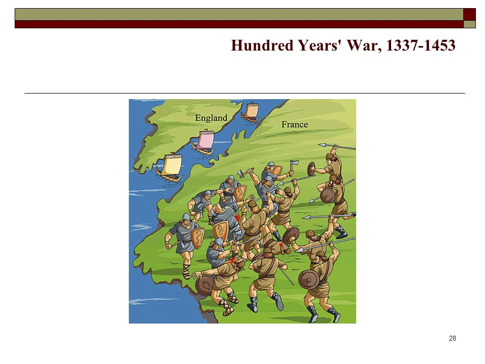 Hundred Years War, 1337-1453
