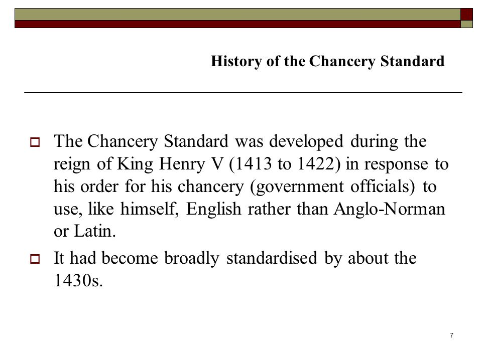 It had become broadly standardised by about the 1430s.