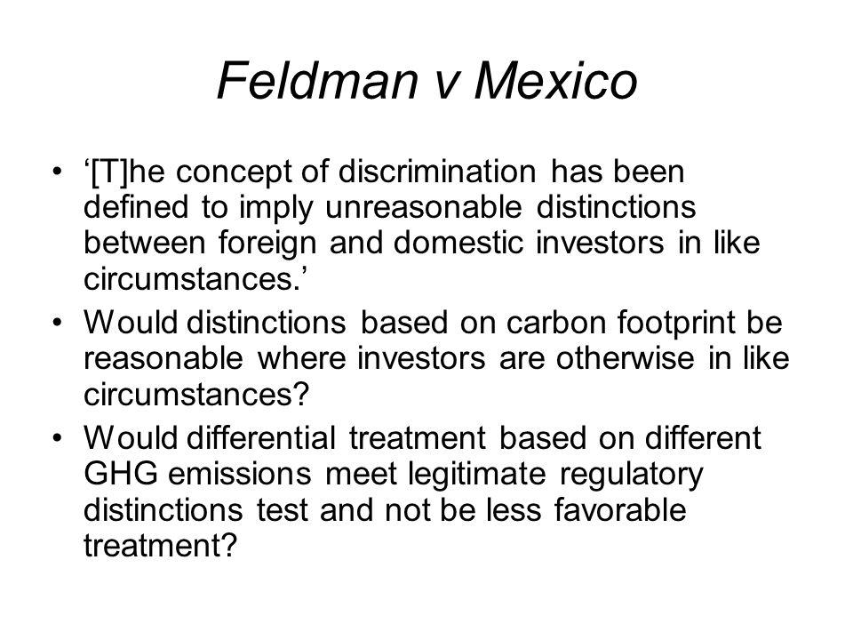Feldman v Mexico