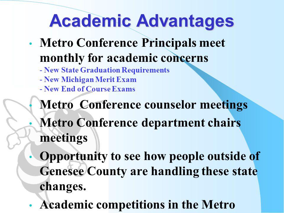 Academic Advantages
