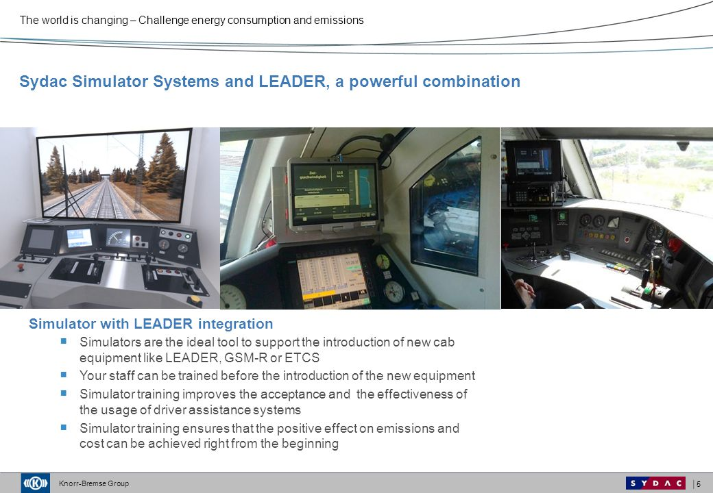 Sydac Simulator Systems and LEADER, a powerful combination