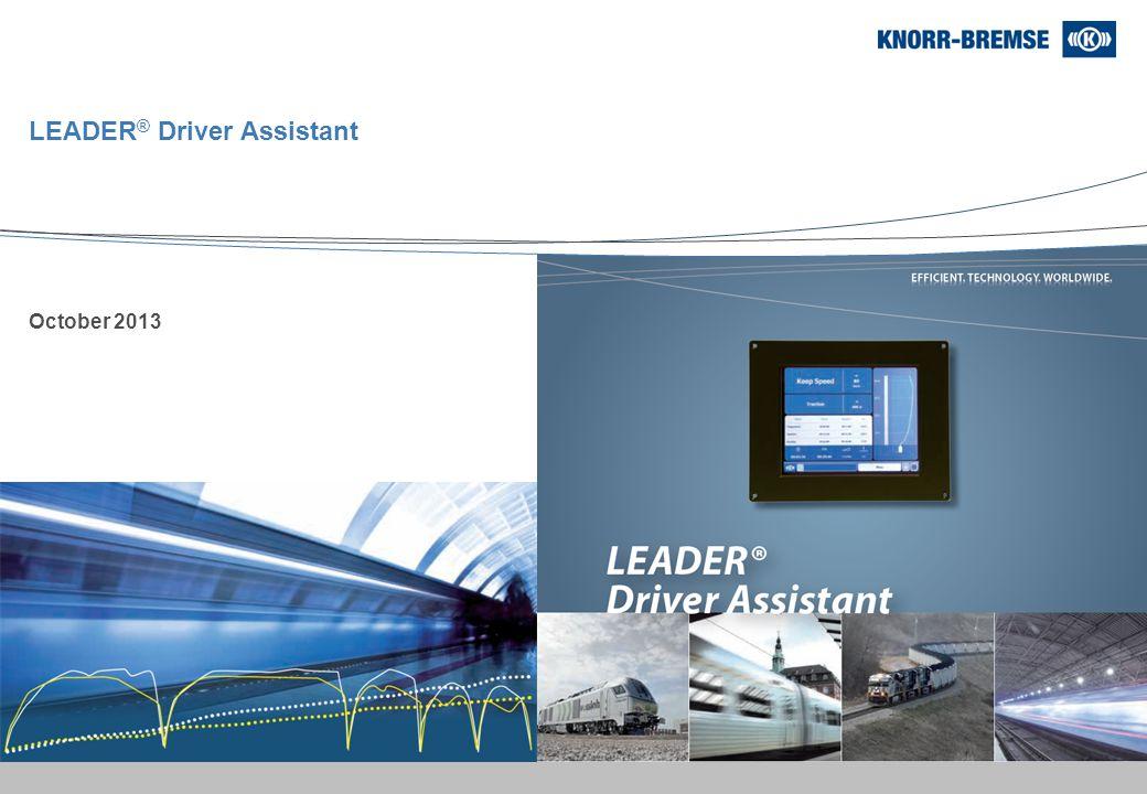 LEADER® Driver Assistant