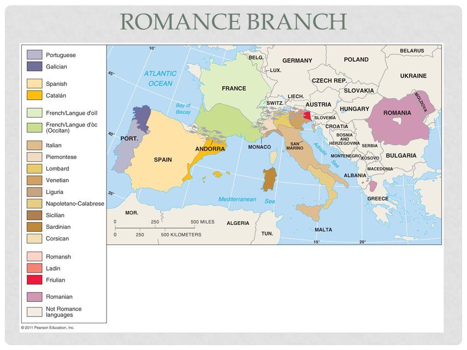 Romance Branch Figure 5-12