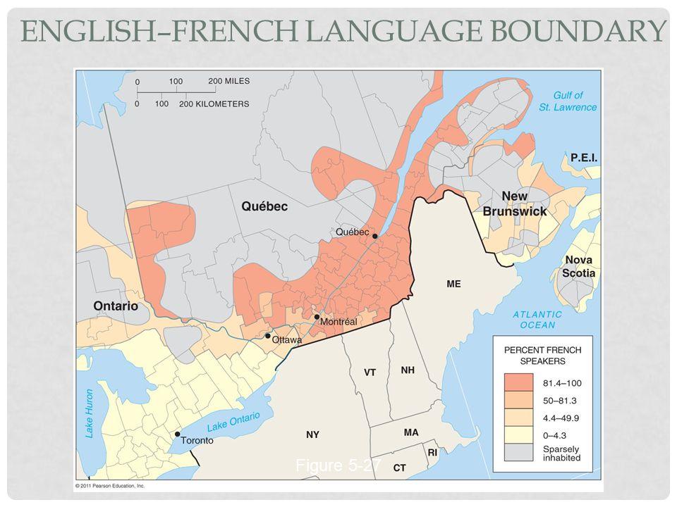 English–French Language Boundary