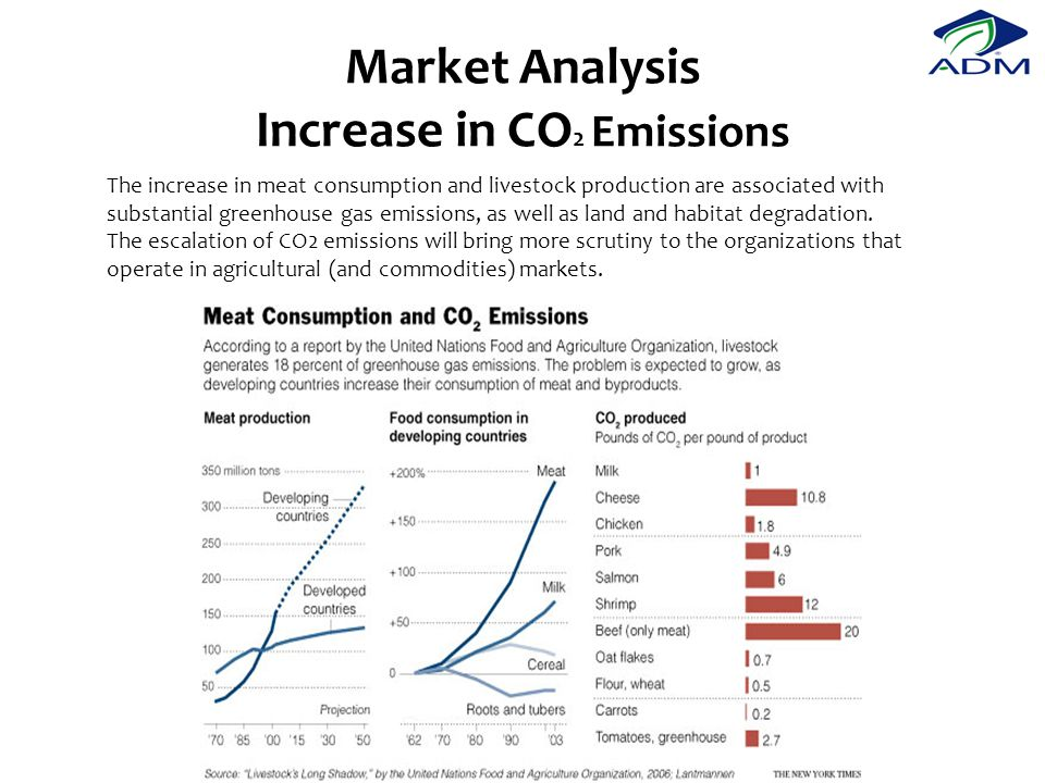 Market Analysis Increase in CO2 Emissions