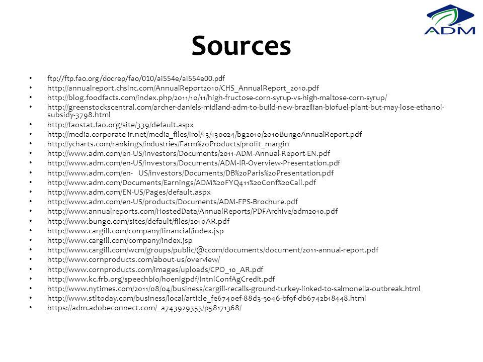 Sources ftp://ftp.fao.org/docrep/fao/010/ai554e/ai554e00.pdf