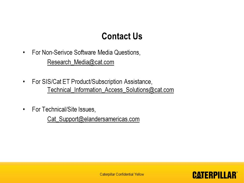 Contact Us For Non-Serivce Software Media Questions,