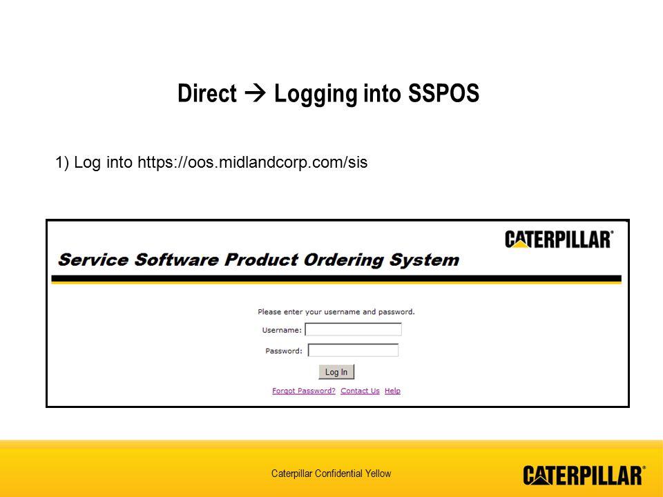 Direct  Logging into SSPOS