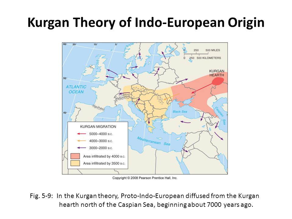Kurgan Theory of Indo-European Origin