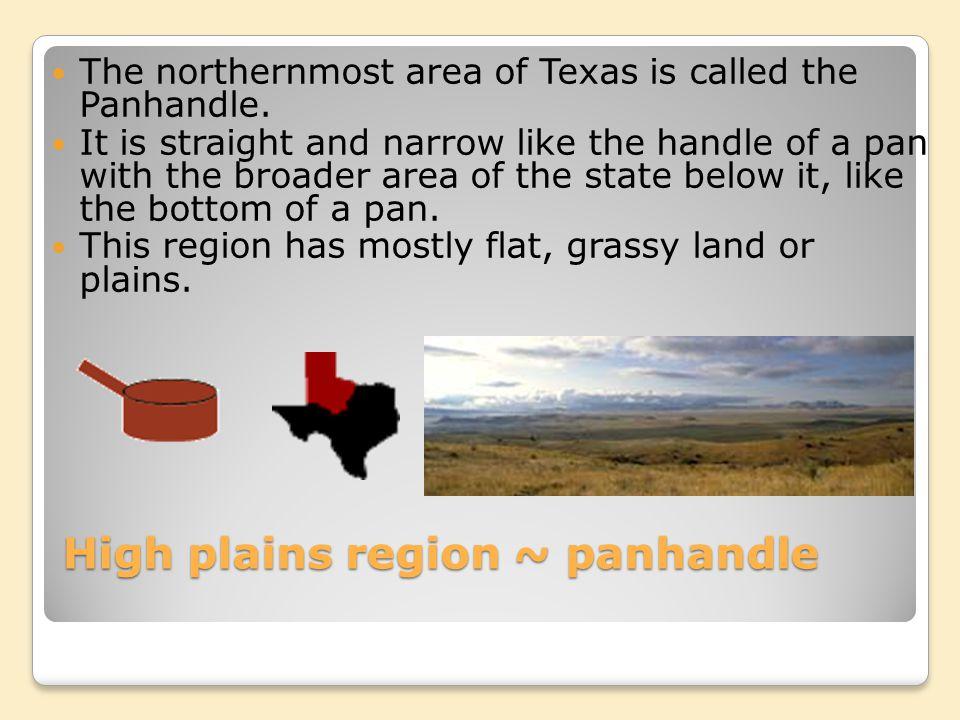 High plains region ~ panhandle