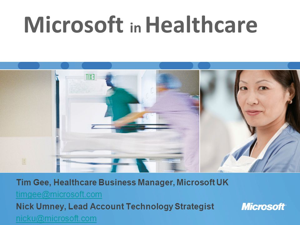 Microsoft in Healthcare