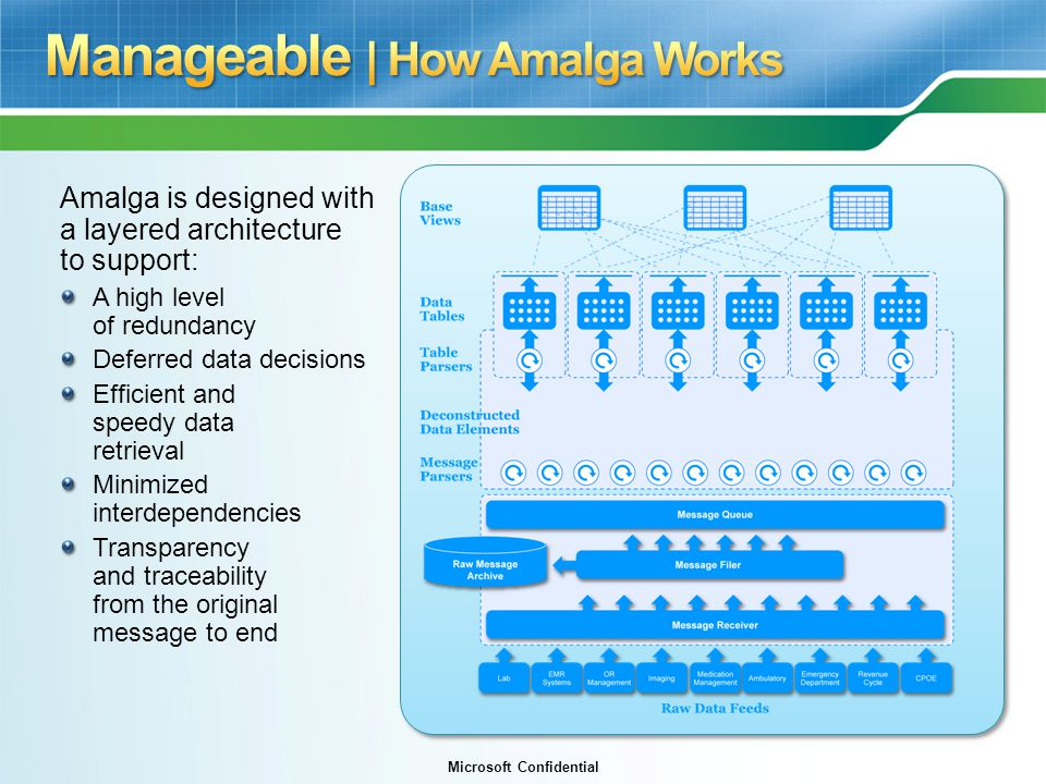 Manageable | How Amalga Works