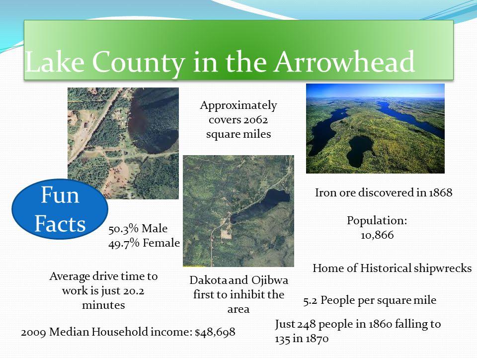 Lake County in the Arrowhead