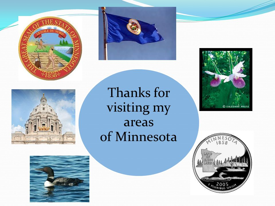 Thanks for visiting my areas of Minnesota