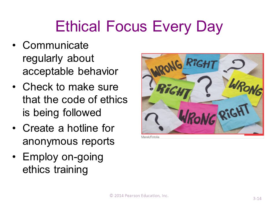 Ethical Focus Every Day