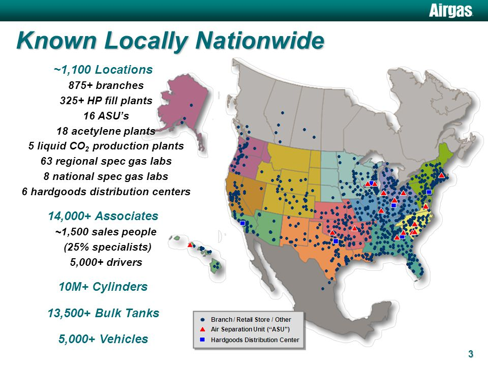 Airgas Great Lakes Region A Closer Look