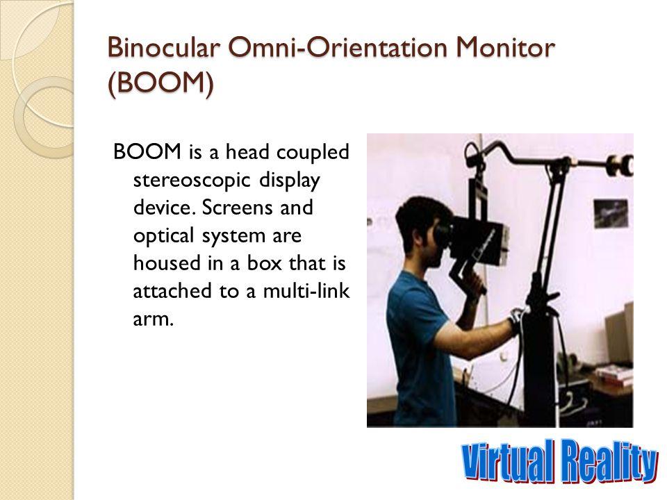 Binocular Omni-Orientation Monitor (BOOM)