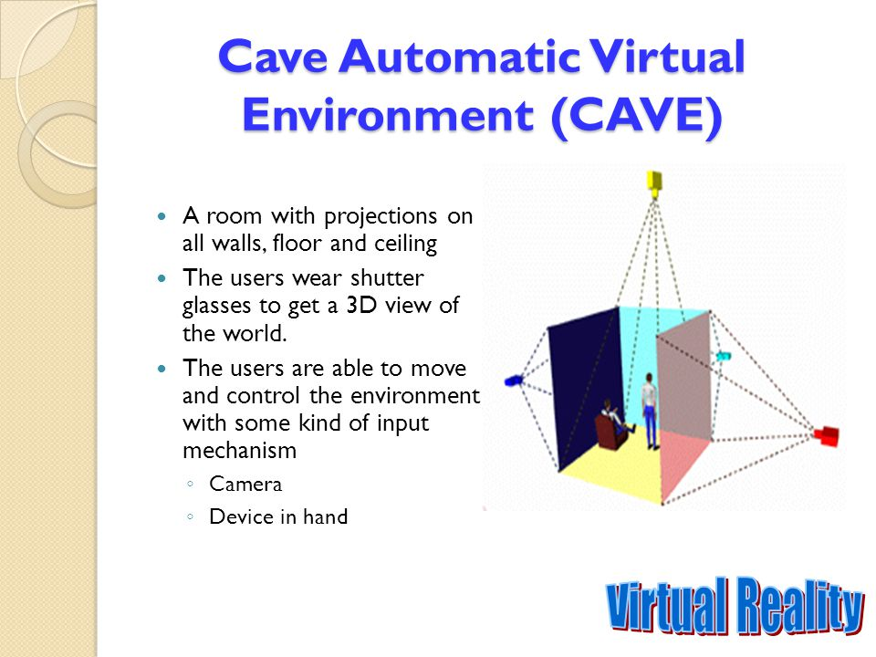 Cave Automatic Virtual Environment (CAVE)