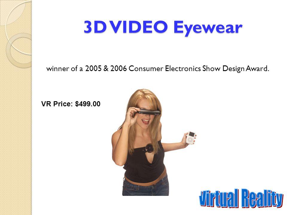 3D VIDEO Eyewear Virtual Reality
