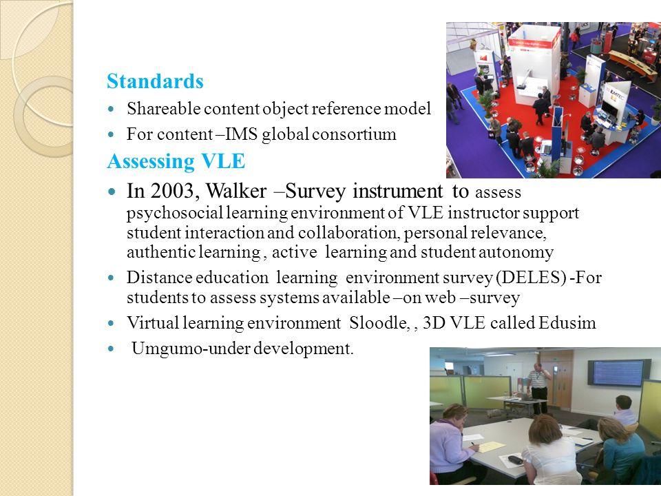 Standards Assessing VLE