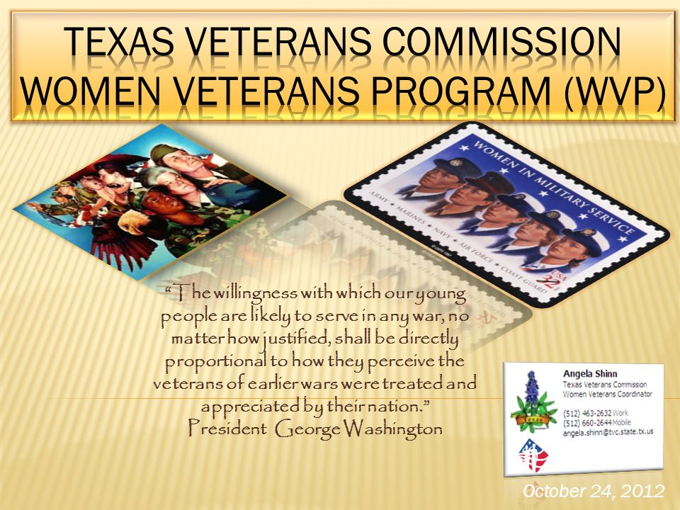 Texas Veterans Commission Women Veterans Program (WVP)