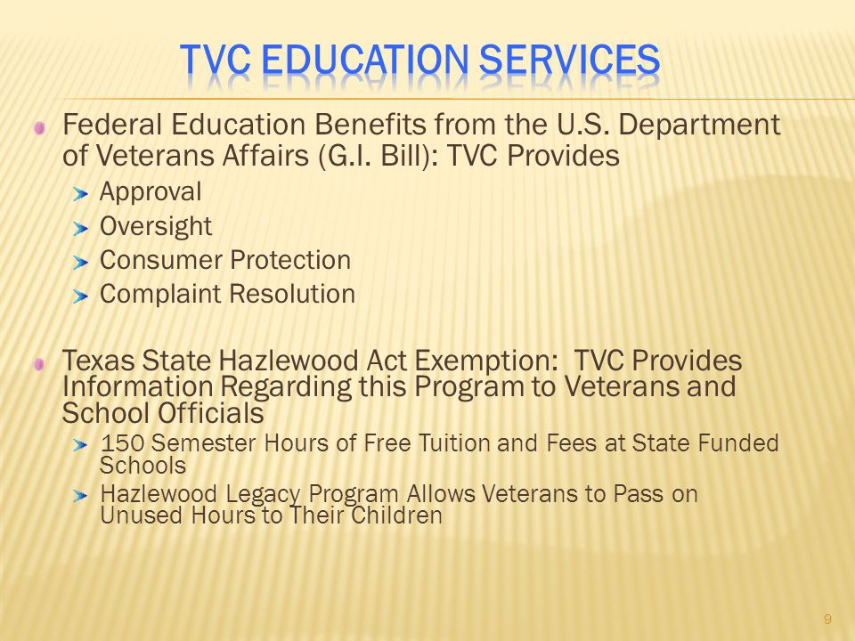 TVC Education Services