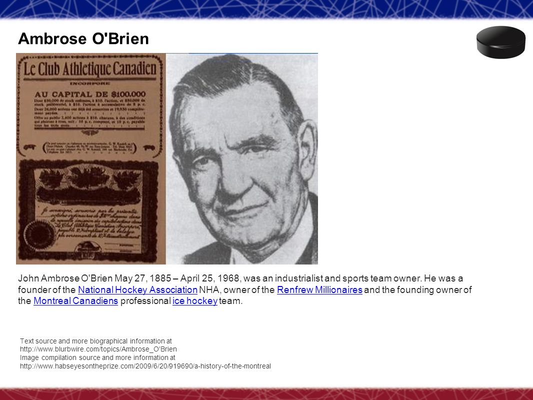 Ambrose O Brien