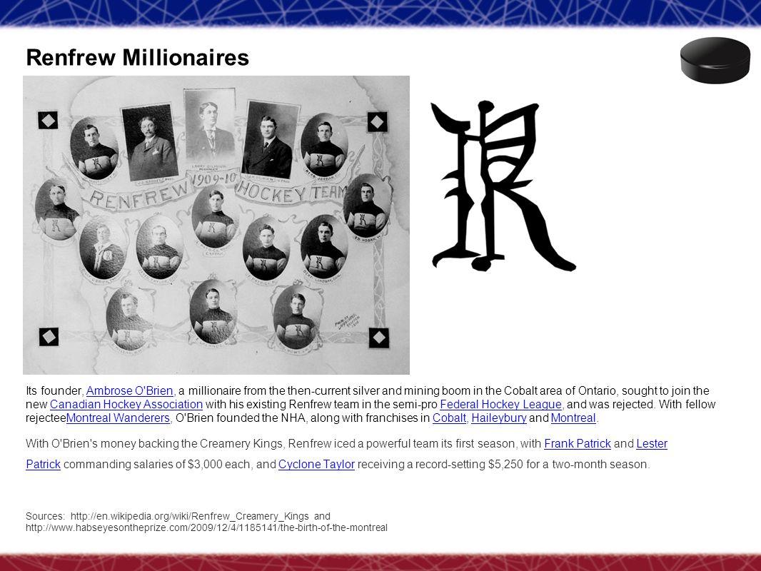 Renfrew Millionaires